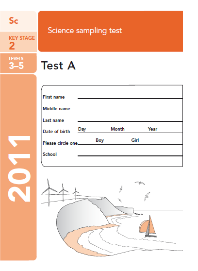 science papers ks2 2010